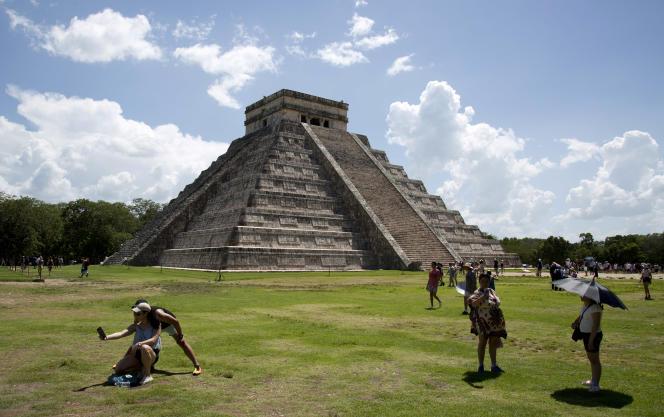 Le site maya de Chichen Itza, dans le Yucatan, au Mexique, en août.