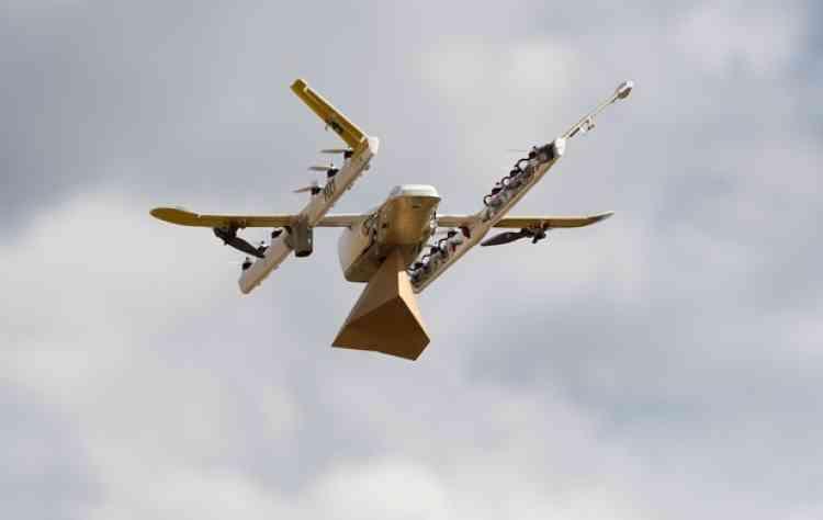 <b>C'est quoi ?</b> Des drones de livraison, rapides, précis et peu énergivores, capables de fonctionner dans des endroits reculés. <br><b>Où en est l'idée ? </b>En juillet 2018, le projet est devenu une entreprise à part entière. Aucun partenariat commercial n'a encore été annoncé.