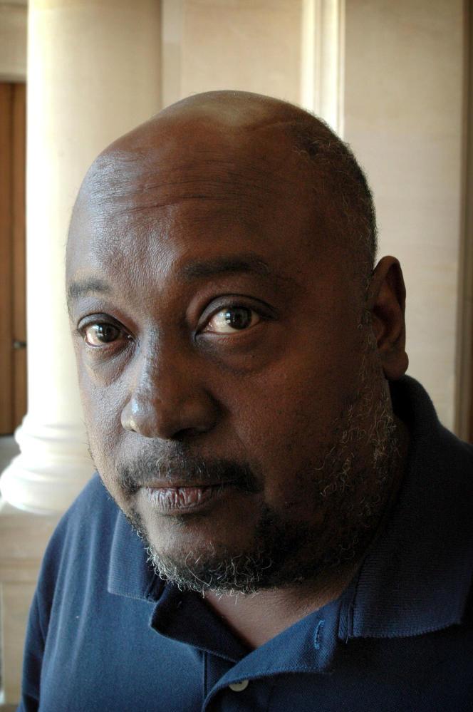 L'écrivain haïtien Lyonel Trouillot, en 2008.