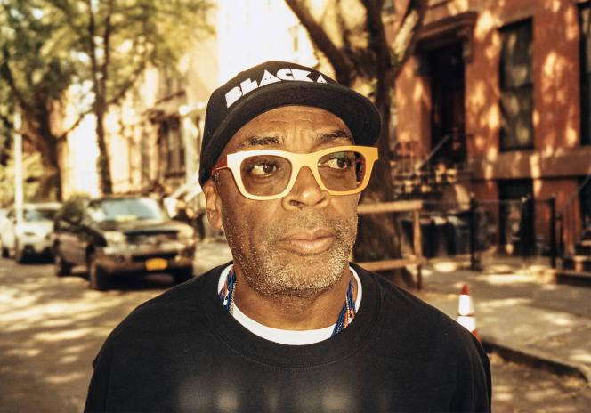 Spike Lee, à Brooklyn, le 14 juillet.