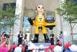 La statue « Sun Child» a été inaugurée le 3 août, à Fukushima.
