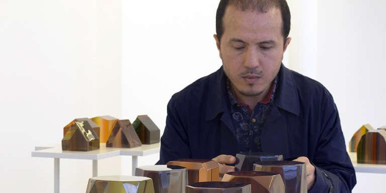 L'artiste marocain Younès Rahmoun. CRÉDITS : DR