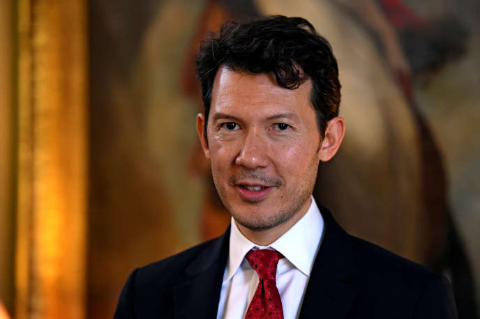 Le directeur général du groupe Air France-KLM, Benjamin Smith, en juin 2016.