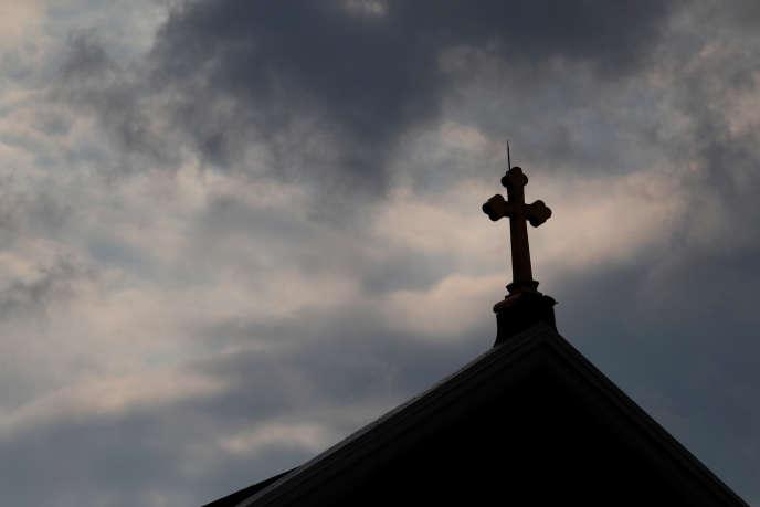 Une église catholique, à Pittsburgh (Pennsylvanie), le 14 août.