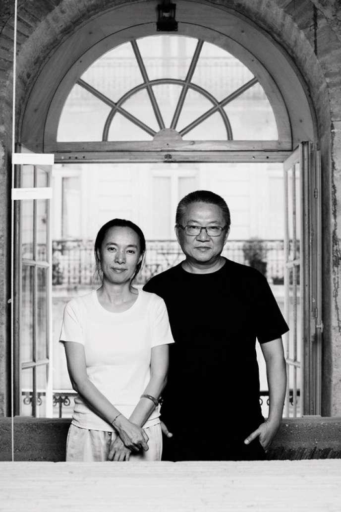 L'exposition au Centre d'architecture de Bordeaux présente la philosophie et des réalisations du couple d'architectes Lu Wenyu et Wang Shu.