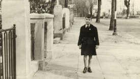 Karl Lagerfeld, en 1946.