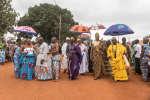 Des rois des régions voisines ont assisté aux cérémonies d'hommage au roi d'Abomey, Dédjalagni Agoli-Agbo, le 11 août 2018.
