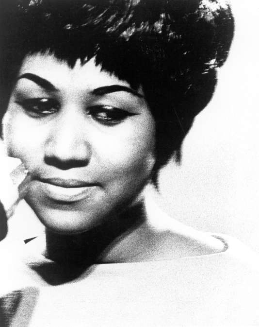 the singer Aretha Franklin to 1965.