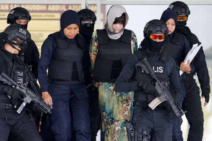 Doan Thi Huong, ressortissante vietnamienne, est jugée en Malaisie pour l'assassinat de Kim Jong-nam.