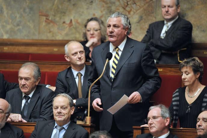 L'ancien député Henri Jibrayel, le 23 novembre 2010 à l'Assemblée nationale.