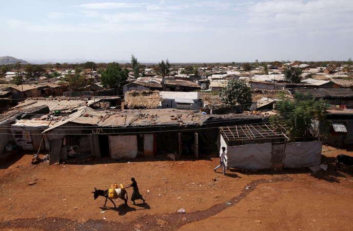 Le camp de réfugiés érythréens de Mai-Aini, dans le nord de l'Ethiopie, en février 2016.