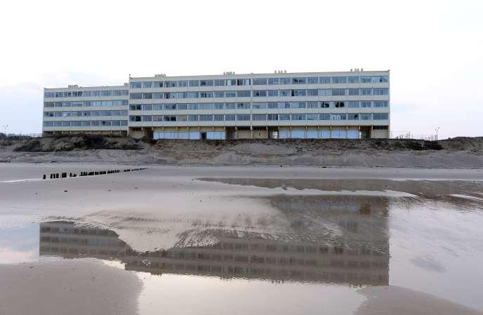 L'immeuble Le Signal, à Soulac-sur-Mer (Gironde), en 2015.