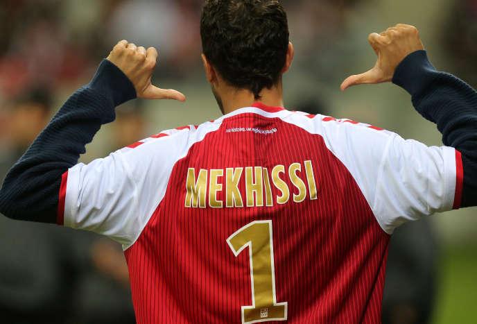 En 2014, Mahiedine Mekhissi avait déjà été célébré lors d'un match entre Reims et Bordeaux.