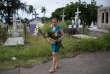 Josefina Esterlina Meza, 55 ans, visite la tombe de son fils Jonathan, 21 ans, tué d'une balle dans la tête par la milice pro-gouvernementale, le 30 mai.