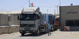 Kerem Shalom, le seul point de passage des marchandises entre Israël et la bande de Gaza, a rouvert mercredi 15 août.