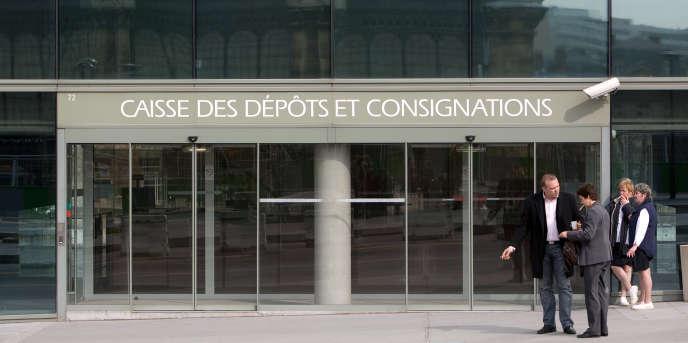 Le siège de la Caisse des dépôts et consignations, à Paris.
