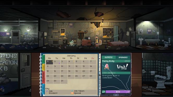 Entre deux boulots, le joueur devra penser à payer ses factures, veiller sur sa santé, mais pourra aussi se mêler des affaires de la résistance via de petites missions simples.