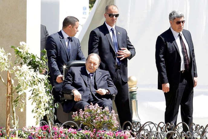 Le président algérien, Abdelaziz Bouteflika, à Alger, le 9 avril 2018.