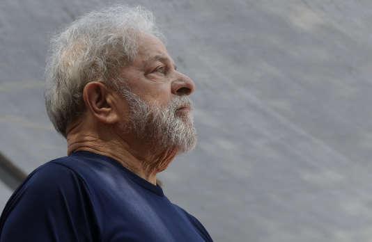Luiz Inácio Lula da Silva, São Bernardo do Campo, Brasil, 7 de abril.
