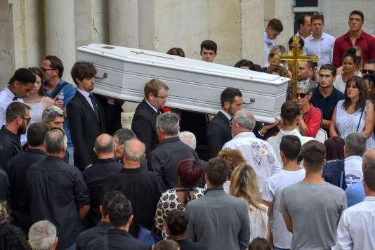 Louis Fajfrowski, 21 ans, est mort dans les vestiaires de son club d'Aurillac après un match.