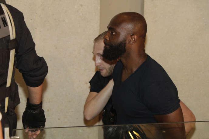 Le rappeur Kaaris au tribunal de Créteil, le 3 août.
