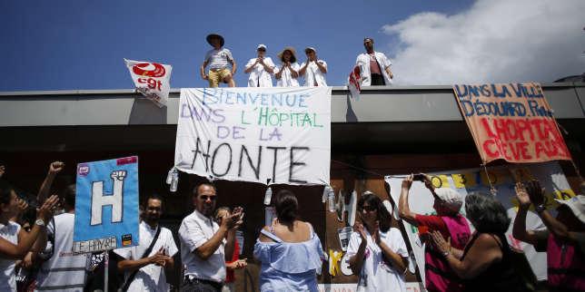 A l'hôpital psychiatrique Pierre-Janet du Havre, le 3 juillet.