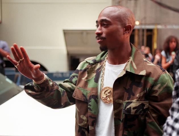 Tupac Shakur à New York, le 4 septembre 1996.