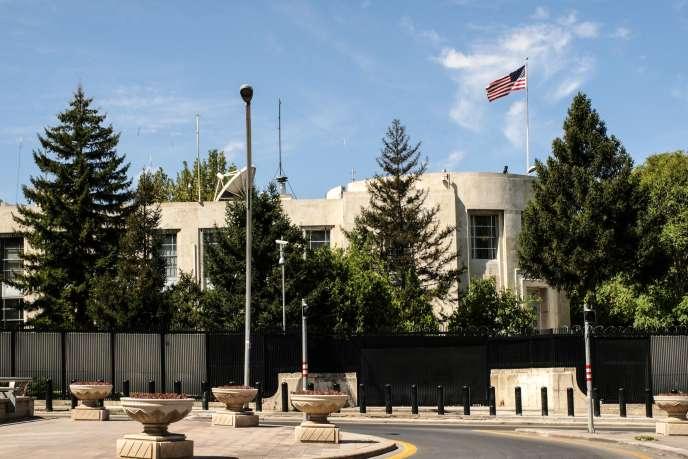 L'ambassade des Etats-Unis à Ankara, le 20 août 2018.