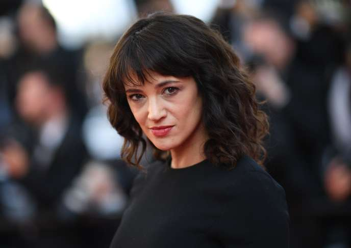 L'actrice Asia Argento, le 19 mai, au Festival de Cannes.