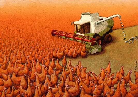 «Eggs», une illustration de Pawel Kuczynski.