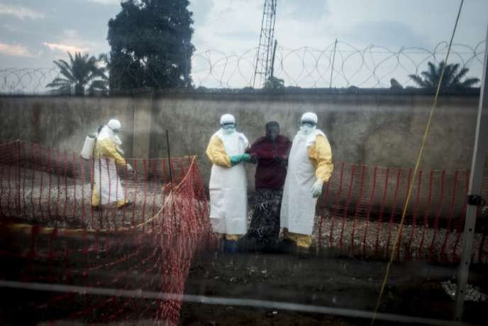 Un centre de traitement d'urgence contre Ebola, à Beni, dans l'est de la République démocratique du Congo, le 15août 2018.
