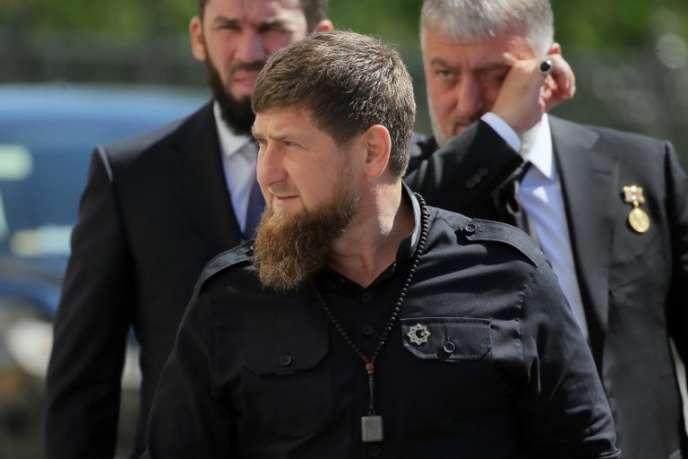 Le dirigeant tchétchène, Ramzan Kadyrov, en mai, à Moscou.