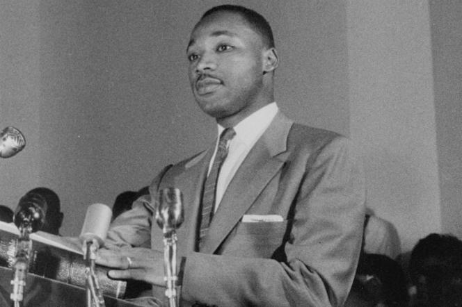 Martin Luther King Jr. dans le documentaire américainproduit et supervisé par Ely Landau,« King : de Montgomery à Memphis» («King: A Filmed Record... Montgomery to Memphis»).