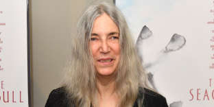 Patti Smith à New York, en mai 2018.