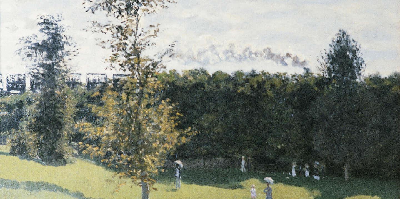 Claude Monet, 1840-1926, francais, Train dans la campagne, huile sur toile, 1870, Paris, musee du Louvre