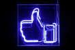 Un bouton« like» de Facebook.