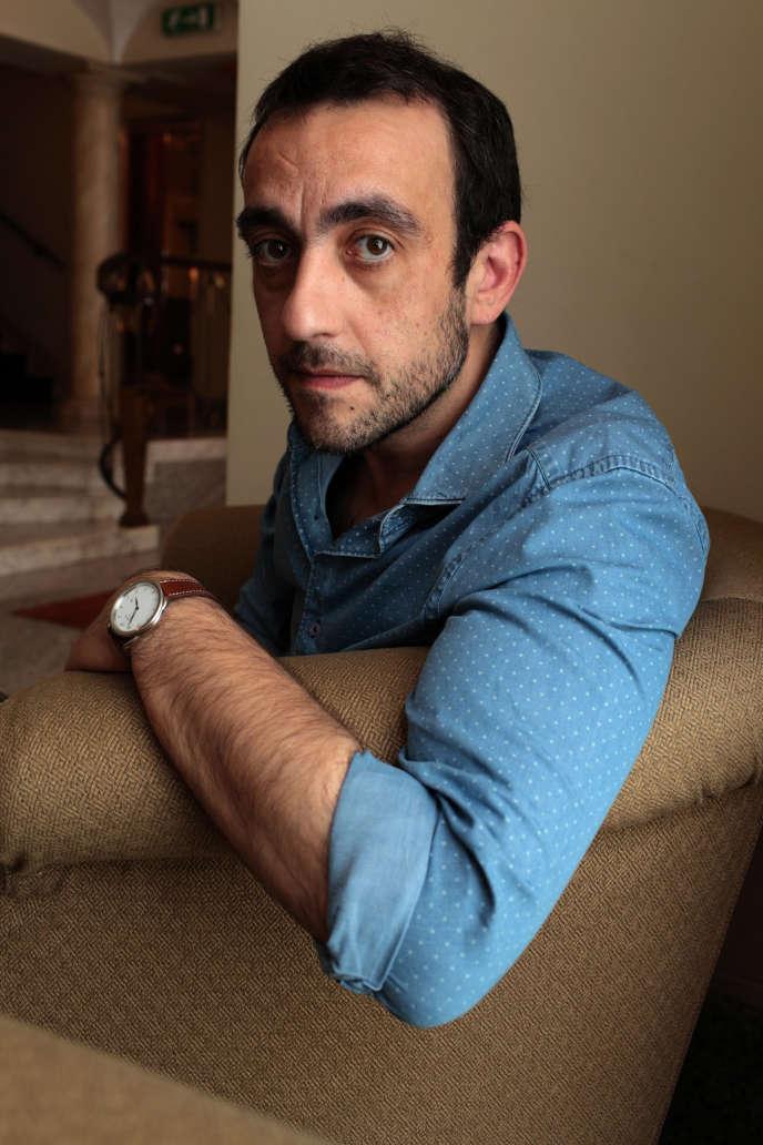 L'écrivain Jérôme Ferrari, en 2014.
