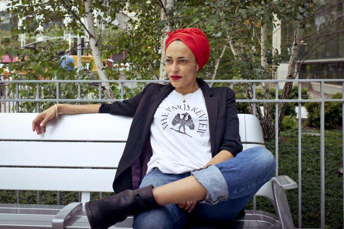 L'écrivaine britannique Zadie Smith à New York, en 2016.