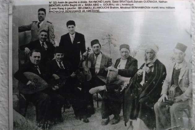 Le 22juin 1961, deux coups de feu ont brisé le rêve… Cheikh Raymond (en bas à gauche), de son vrai nom Raymond Leyris, est mort assassiné.