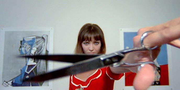 Anna Karina dans «Pierrot le fou» (1965), de Jean-Luc Godard (photogramme).
