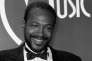Marvin Gaye, le 17 janvier 1983, au American Music Awards, à Los Angeles.