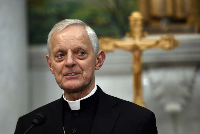 Le cardinal Donald Wuerl de Washington, ex-évêque de Pennsylvanie, à Washington, en juin 2015.