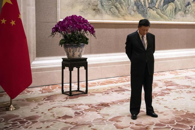 Le président chinois Xi Jinping, à Pékin, le 21 juin.