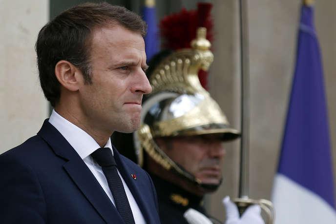 Emmanuel Macron le 20 juillet.