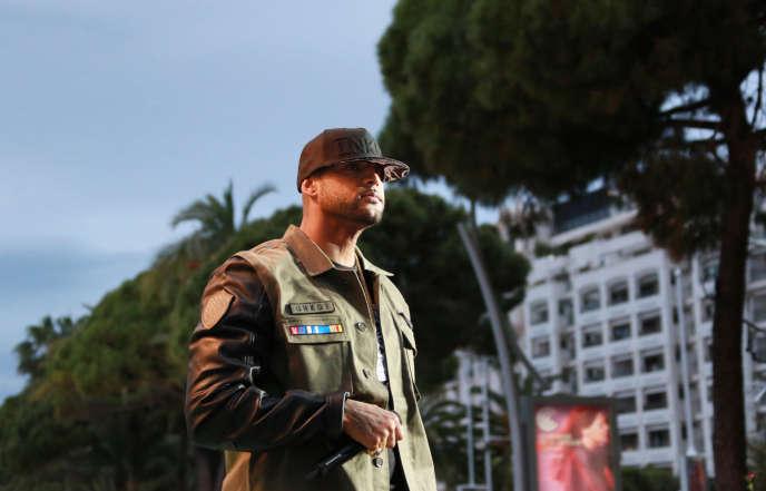 Booba à Cannes, en 2014.