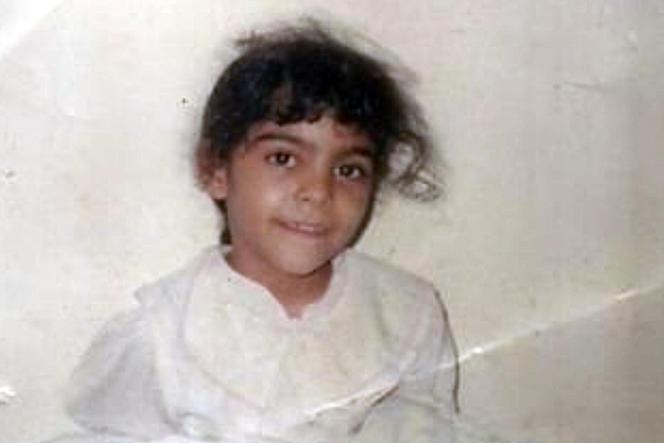 Les soutiens d'Israa Al-Ghomgham sur les réseaux sociaux ont choisi de la montrer quand elle était enfant.