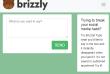 L'interface révolutionnaire de Brizzly.