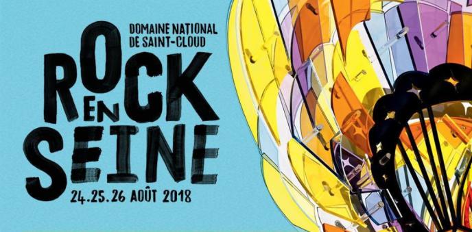Affiche du festival Rock en Seine.