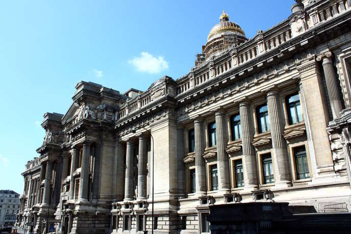 Le palais de justice de Bruxelles, en Belgique.