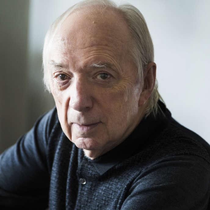 Le poète Franck Venaille, en mai 2017.